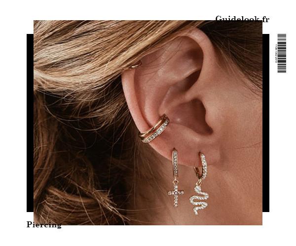 idée piercing oreille