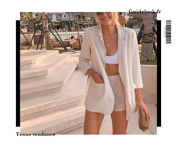 idée de tenues d'été pour femme