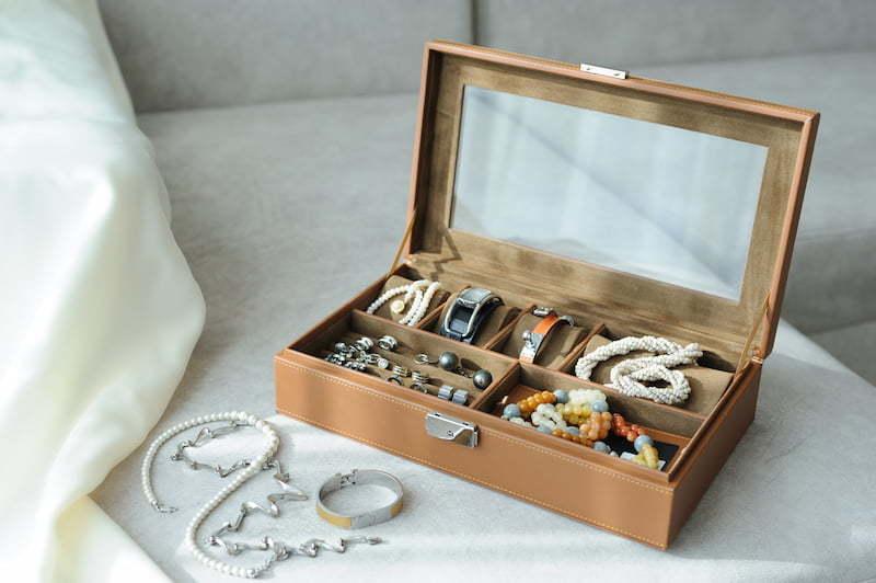 boite rangement bijoux