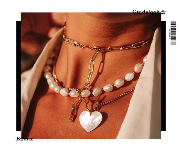 bijoux tendance assortiement